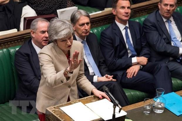 Brexit: Thu tuong Anh Theresa May tim kiem su ung ho cua Cong dang hinh anh 1
