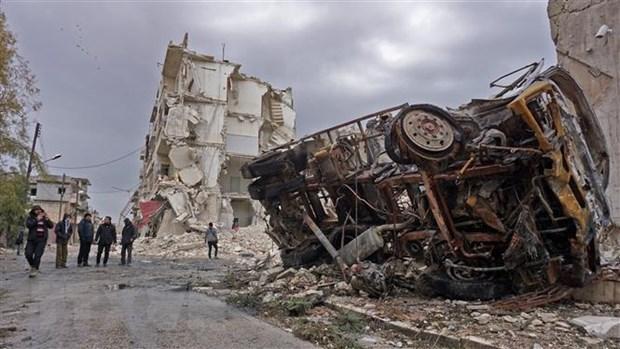Syria: Danh bom lien tiep lam 13 nguoi thiet mang tai Raqqa hinh anh 1