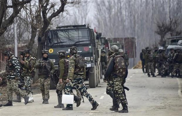 Binh sy An Do va Pakistan dau sung coi o khu vuc Kashmir hinh anh 1