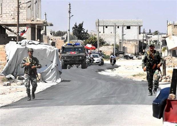 Quan doi Nga va Syria day manh cac cuoc tan cong vao Tay Bac Syria hinh anh 1