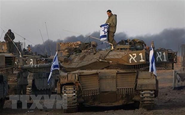 Israel dap tra hang chuc qua rocket tu Dai Gaza ban sang hinh anh 1