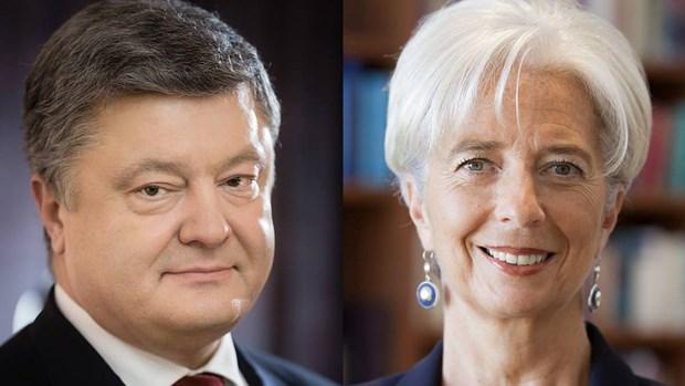 Ba Christine Lagarde: IMF san sang tang cuong hop tac voi Ukraine hinh anh 1