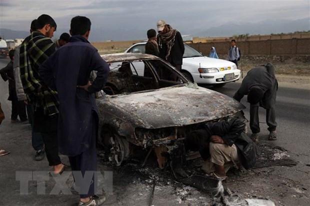 Taliban tan cong nham vao luc luong an ninh Afghanistan hinh anh 1