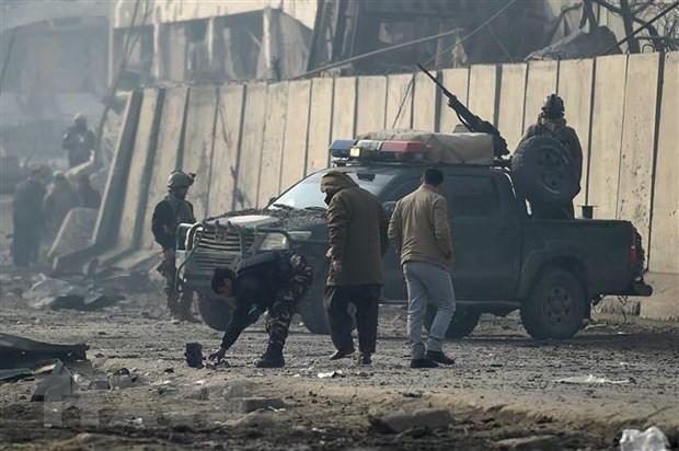 Hon 40 nguoi thuong vong trong vu danh bom lieu chet o Afghanistan hinh anh 1