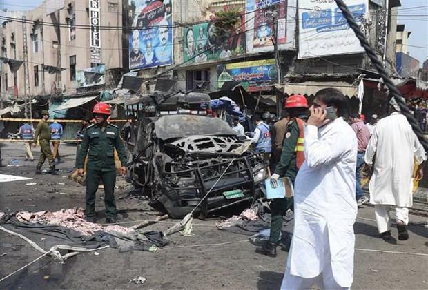 Taliban o Pakistan thua nhan tien hanh vu no lam 33 nguoi thuong vong hinh anh 1