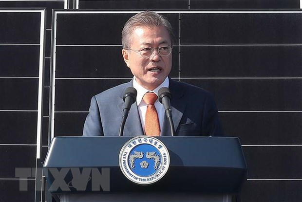 Tong thong Han Quoc: Seoul dang tim cach gui gao toi Trieu Tien hinh anh 1