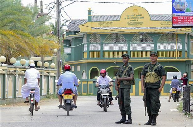 Sri Lanka: Quan doi bao dam an ninh cho Thanh le Chua Nhat o Colombo hinh anh 1