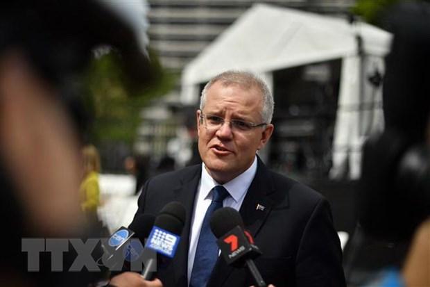 Bau cu Australia: Thu tuong Morrison tap trung vao van de kinh te hinh anh 1