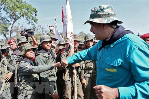 Tong thong Maduro: Dam phan hoa binh voi phe doi lap co khoi dau tot hinh anh 1