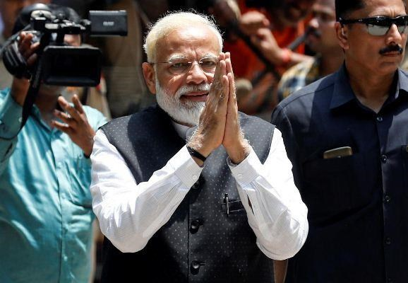 Thu tuong An Do Narendra Modi cam ket doan ket dat nuoc hinh anh 1