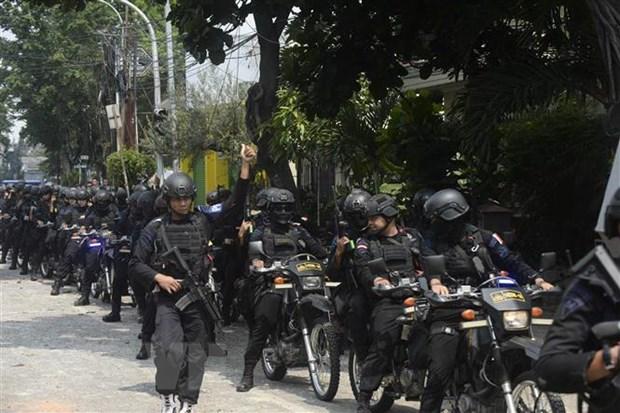 Indonesia tang cuong luc luong vu trang o thu do Jakarta hinh anh 1