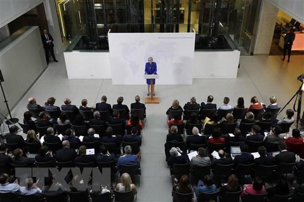 Brexit: Chinh phu Anh kho dat duoc nhat tri ve du luat roi EU hinh anh 1