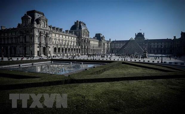 Phap: Bao tang Louvre phai dong cua vi nhan vien dinh cong hinh anh 1