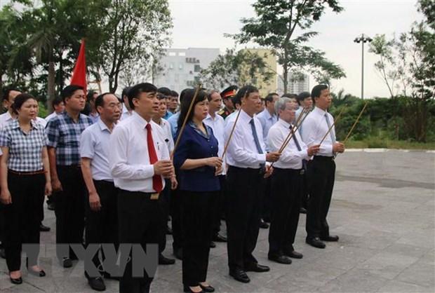 Dang huong tuong niem dong chi Hoang Quoc Viet tai Bac Ninh hinh anh 1