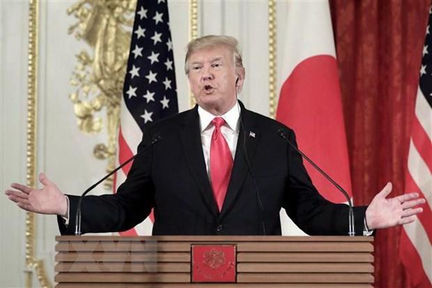 Tong thong Trump ung ho Nhat Ban lam trung gian dam phan voi Iran hinh anh 1