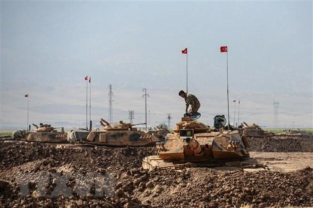 Tho Nhi Ky mo chien dich chong cac tay sung PKK o mien Bac Iraq hinh anh 1