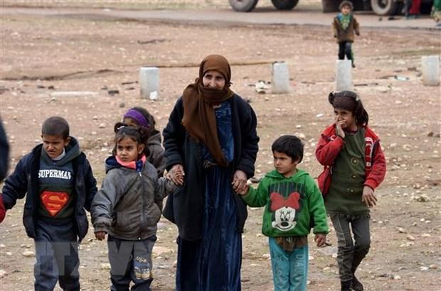 LHQ keu goi quoc te chung tay giai quyet khung hoang nhan dao Syria hinh anh 1