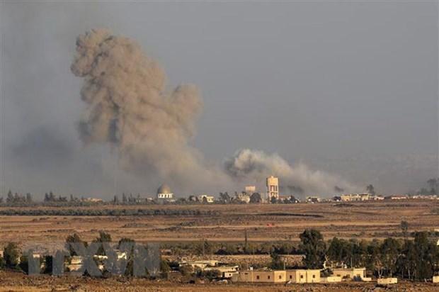 Israel tiep tuc khong kich nham vao can cu khong quan cua Syria hinh anh 1