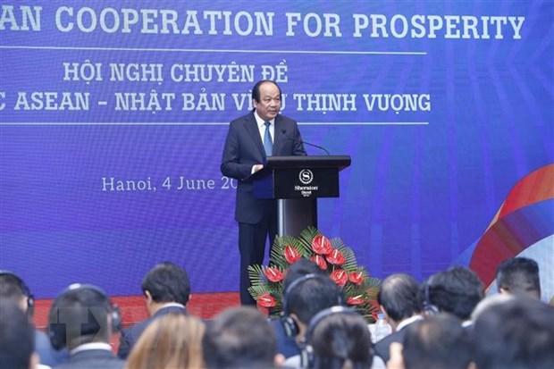 Khai mac Hoi nghi chuyen de hop tac ASEAN-Nhat Ban vi su thinh vuong hinh anh 1