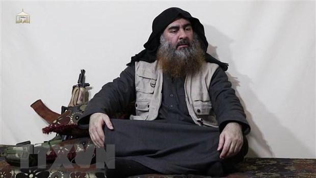 Thu linh IS Al-Baghdadi dang an nau o khu vuc bien gioi Iraq va Syria hinh anh 1