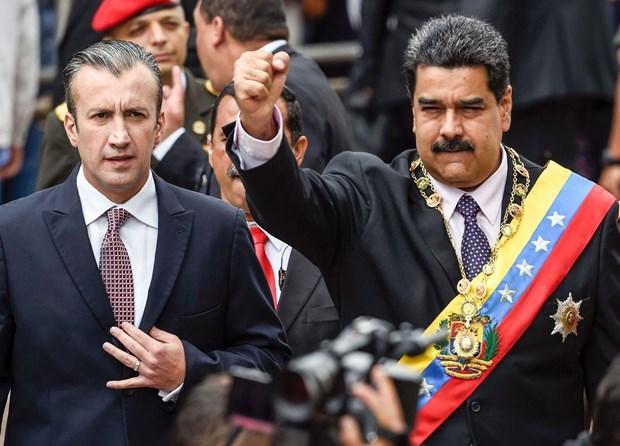 Venezuela len an lenh trung phat cua My, Cuba ung ho Tong thong Maduro hinh anh 1