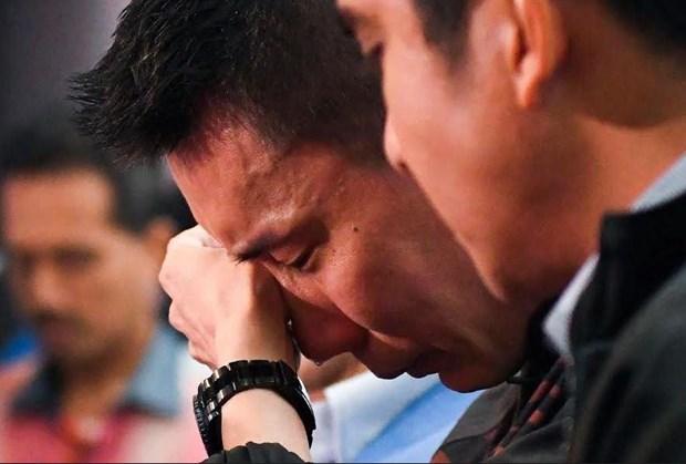 Lee Chong Wei tuyen bo giai nghe trong buoi hop bao dam nuoc mat hinh anh 1