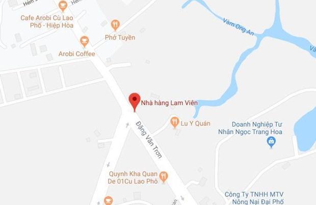 Dong Nai bat khan cap doi tuong giang ho trong vu vay xe cho cong an hinh anh 1