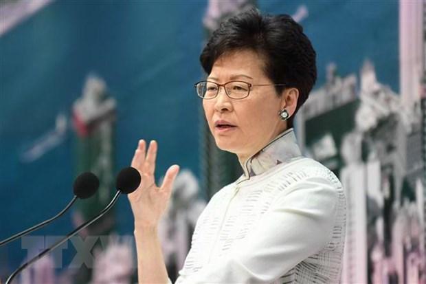 Trung Quoc ung ho quyet dinh cua Hong Kong dinh chi du luat dan do hinh anh 1