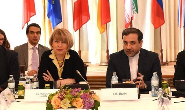Gioi chuc EU, Iran hop ban thao go cang thang hat nhan hinh anh 1