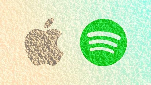 Apple phan hoi khieu kien cua Spotify ve canh tranh khong cong bang hinh anh 1