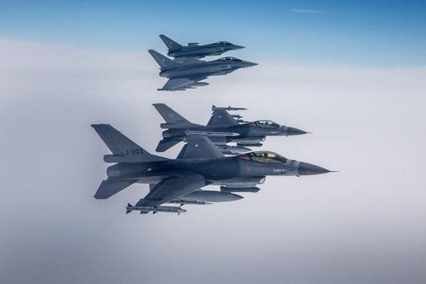 NATO tap tran khong quan thuong nien Ramstein Alloy tai Baltic hinh anh 1