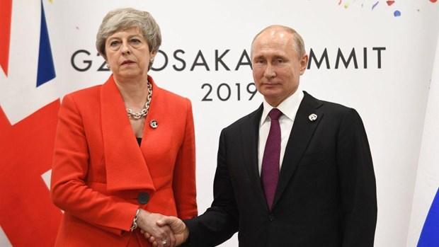 Lanh dao Nga va Anh gap nhau o G20, nhung chua binh thuong hoa quan he hinh anh 1