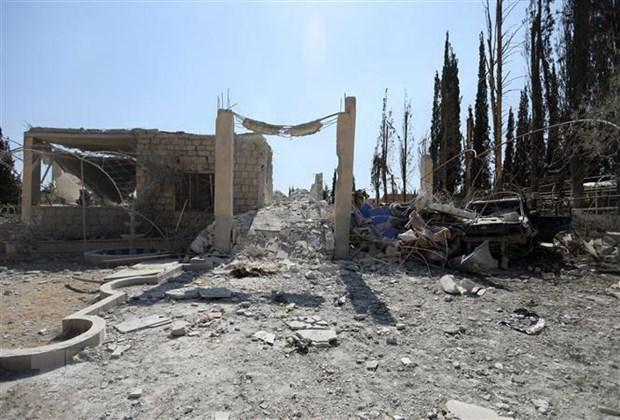 SOHR: 20 nguoi thiet mang trong cac vu khong kich o Tay Bac Syria hinh anh 1