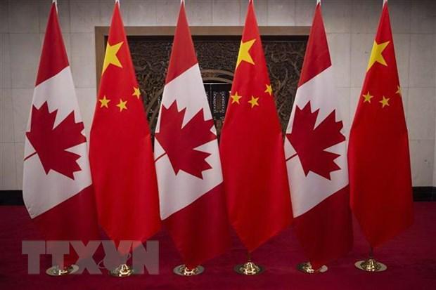 Trung Quoc thong bao ve mot vu bat giu cong dan Canada hinh anh 1