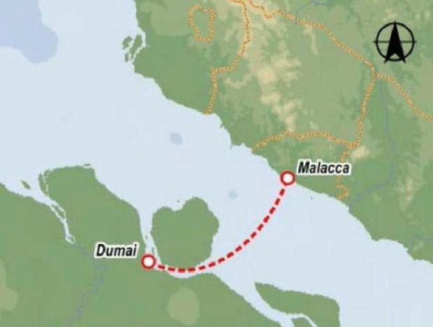 Indonesia va Malaysia se mo tuyen duong thuy Dumai-Malacca hinh anh 1