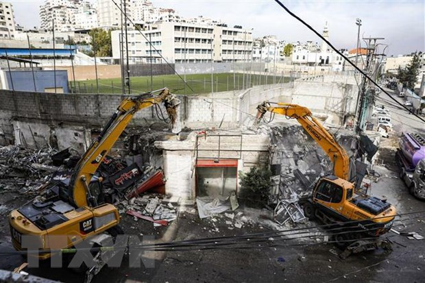 Palestine: Israel doa pha huy nha cua tai Dong Jerusalem hinh anh 1