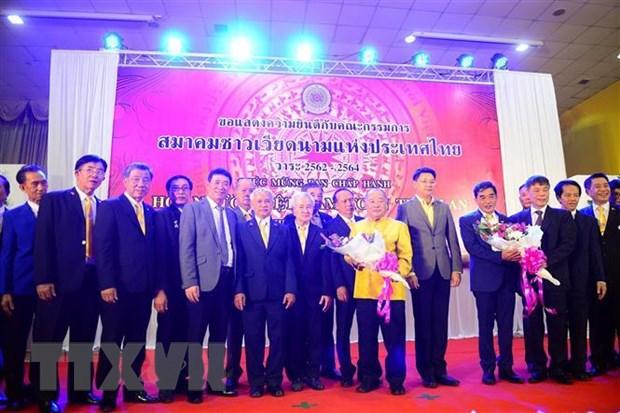 Tong hoi nguoi Viet Nam tai Thai Lan phat huy hieu qua vai tro gan ket hinh anh 1