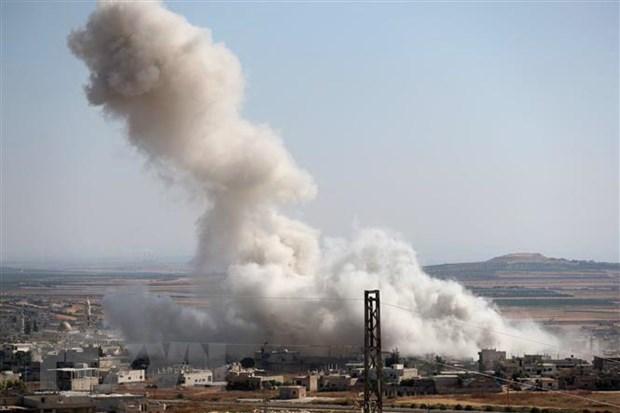 SOHR: Nhieu nguoi chet trong cac dot khong kich tai Idlib hinh anh 1