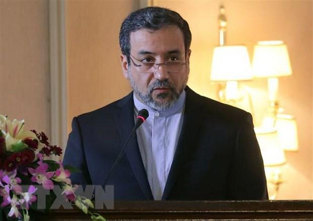 Iran danh gia ve cuoc gap khan voi cac nuoc thanh vien JCPOA hinh anh 1