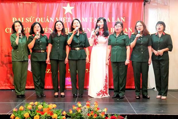 Nguoi Viet tai Ba Lan to chuc ky niem 72 nam Ngay Thuong binh-Liet sy hinh anh 2