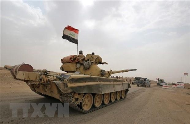 Iraq bat dau giai doan 3 cuoc tan cong lon truy lung tan quan IS hinh anh 1