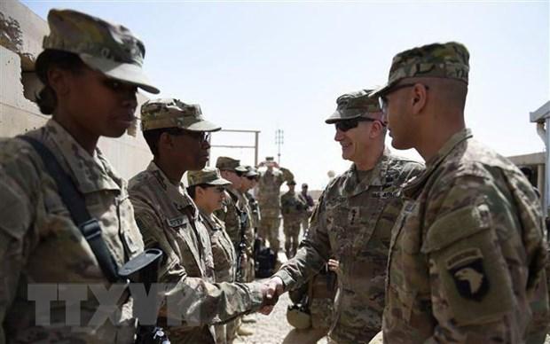 Lanh dao My thao luan ve ke hoach hoa binh Afghanistan hinh anh 1
