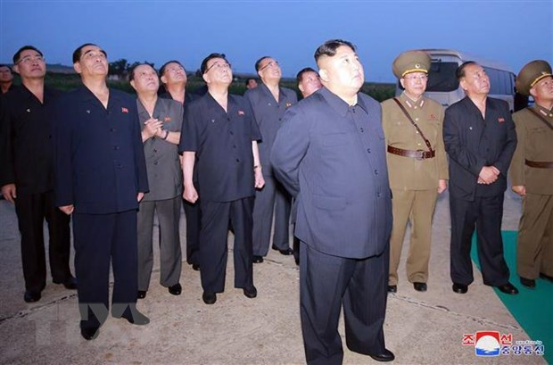 KCNA: Nha lanh dao Trieu Tien Kim Jong-un giam sat vu thu vu khi moi hinh anh 1