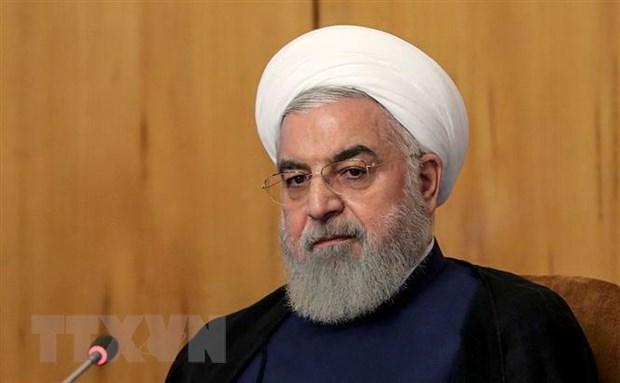 Iran: Vung Vinh se khong an toan neu Tehran khong the xuat khau dau mo hinh anh 1