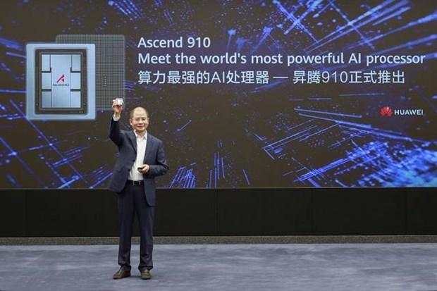 Huawei ra mat bo xu ly tri tue nhan tao 'manh nhat' Ascend 910 hinh anh 1