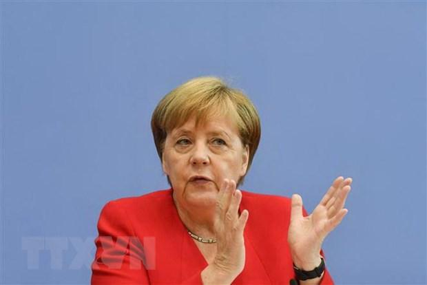 Thu tuong Duc Angela Merkel hoan nghenh tien trien trong van de Iran hinh anh 1