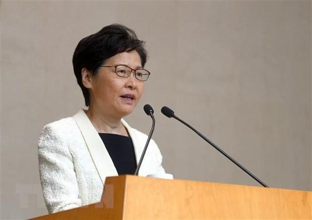 'Trung Quoc ung ho chinh quyen Hong Kong rut lai du luat dan do' hinh anh 1