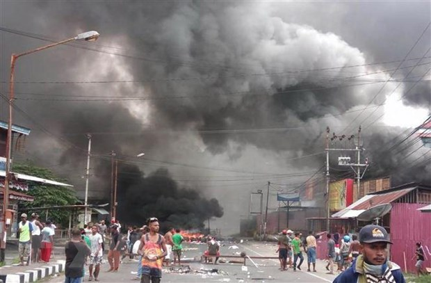 Indonesia dieu tra vai tro cua IS trong bao loan o Papua hinh anh 1