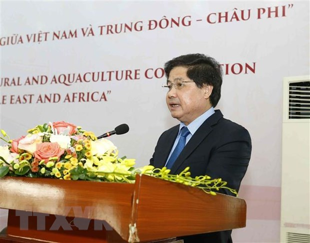 Gap go Dai su Trung Dong-chau Phi: Mo ra huong hop tac nong nghiep hinh anh 1