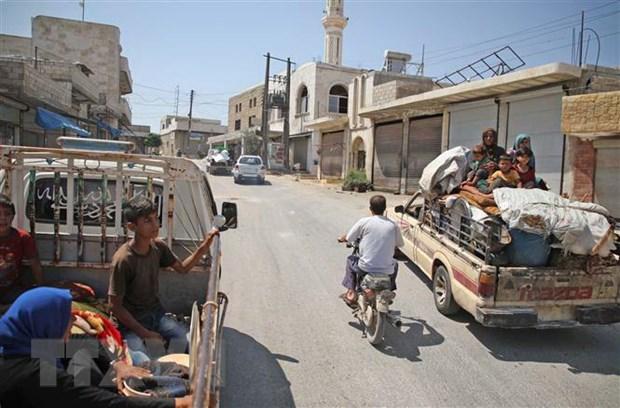 Syria va Nga nhat tri ve danh sach Uy ban hien phap Syria hinh anh 1